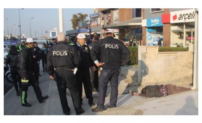 Polis o soruyu sordu, ortalık savaş alanına döndü