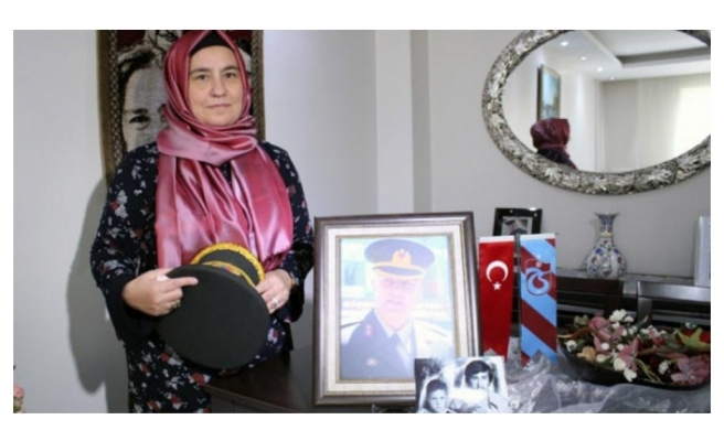 Şehit eşi Kulaksız: Teröristin ölümü bizim bayramımız