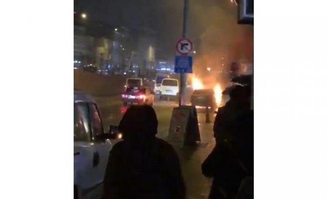 Bursa'da sıcak saatler! Alev alev yandı