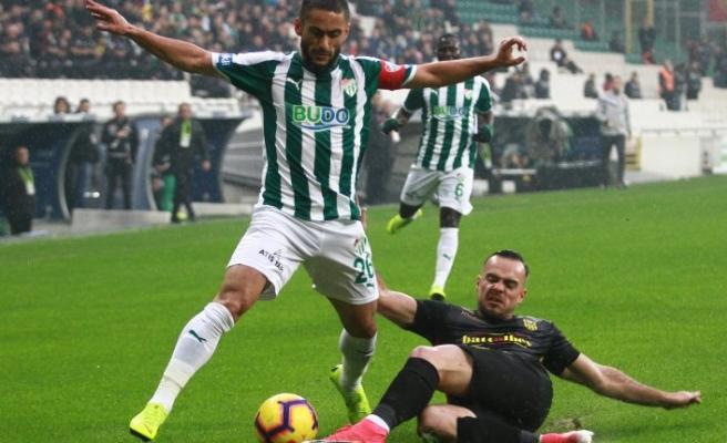 Bursaspor 1 - Evkur Yeni Malatyaspor 1