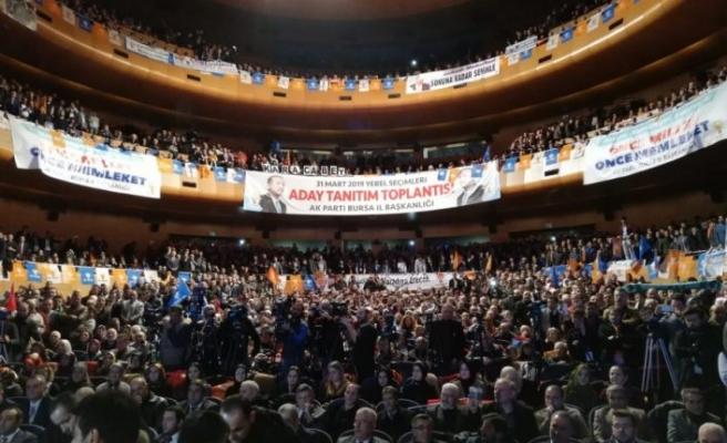 AK Parti Bursa'da büyük gün!