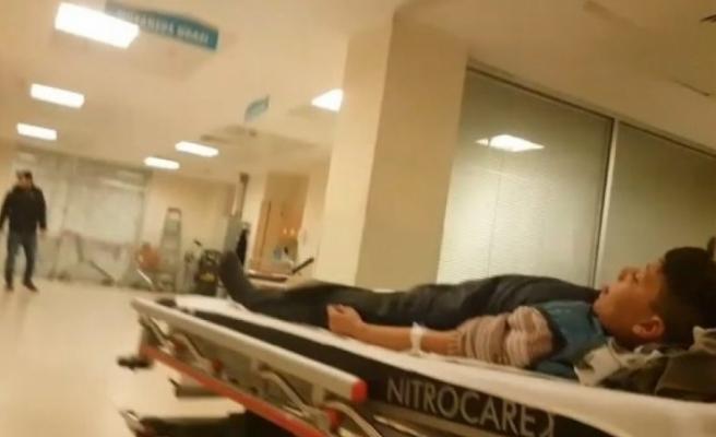 Bursa'da küçük çocuk kazara kendini vurdu