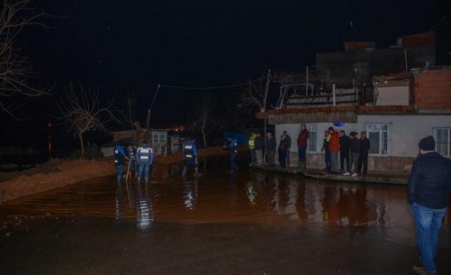 Bursa'da su baskınlarına setli önlem