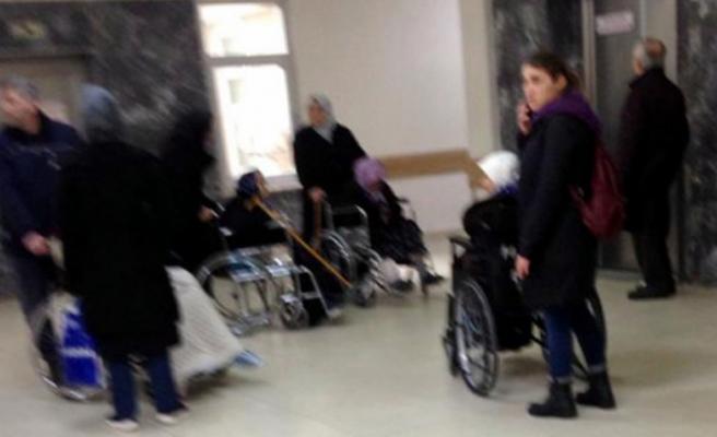 Bursa Uludağ Üniversitesi'nde asansör krizi! Pes dedirtti!