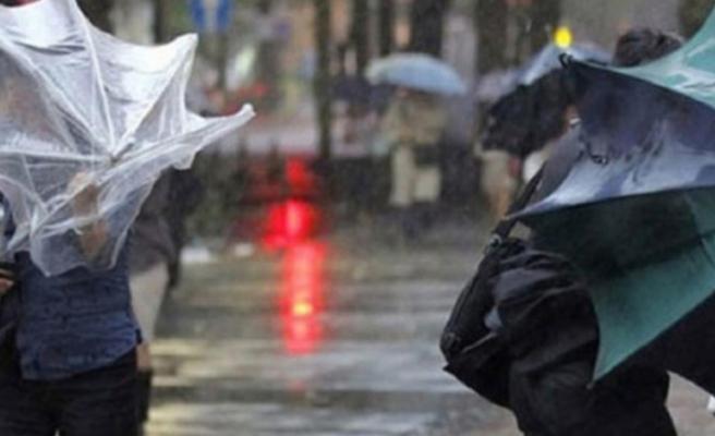 Bursa'da fırtına uyarısı