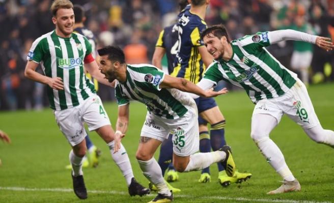 Bursaspor 5 maçtır kazanamıyor