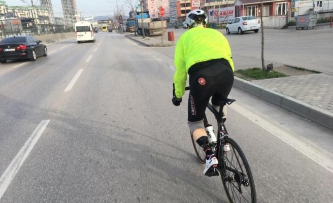 Bursa'da azmin öyküsü! Ayaklarını kaybetti ama...