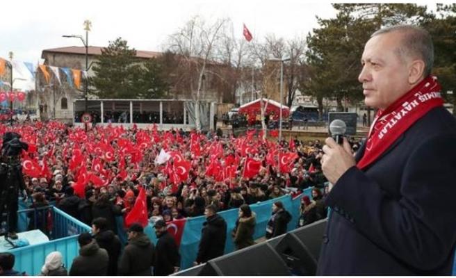 Erdoğan'dan Sivas'ta önemli mesajlar