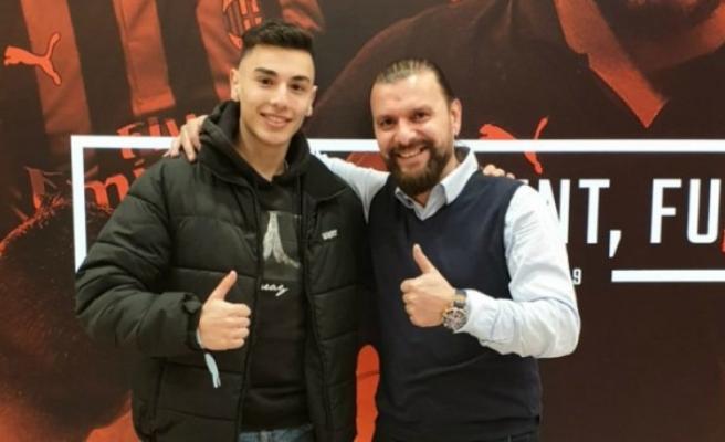 Genç Türk futbolcu Milan yolunda