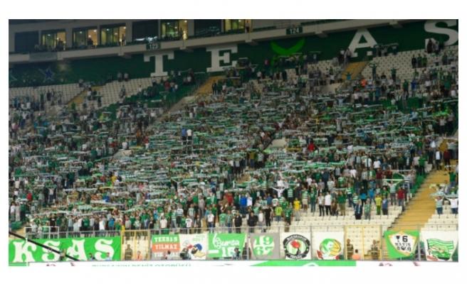 Bursaspor taraftarından destek açıklaması!