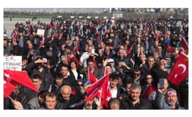 EYT'liler İstanbul'da buluştu