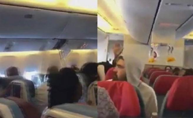 THY uçağı türbülansa girdi, yaralılar var!