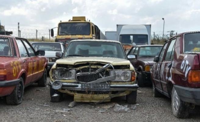 Ankara'da hurda araç temizliği