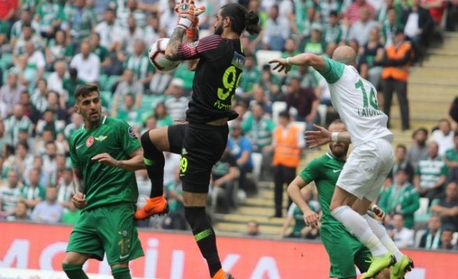 Bursaspor: 0 - Akhisarspor: 0