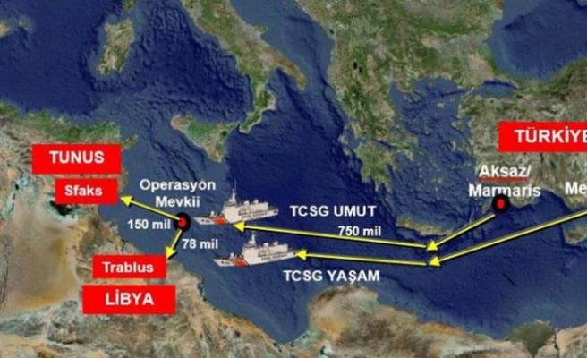 İçişleri Bakanlığı duyurdu: Uluslararası sularda dev operasyon...