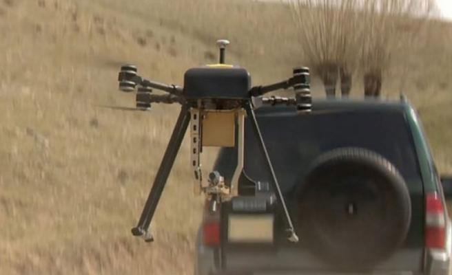 İlk milli silahlı drone sistemi...