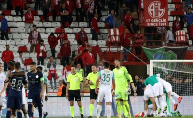 Antalyaspor: 0 Bursaspor: 1