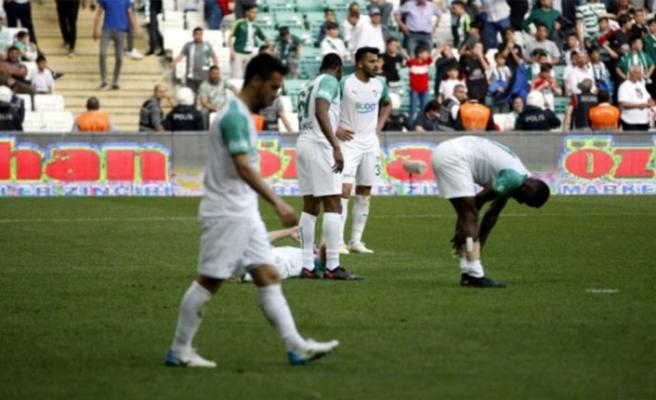 Bursaspor'da gol sorunu sürüyor