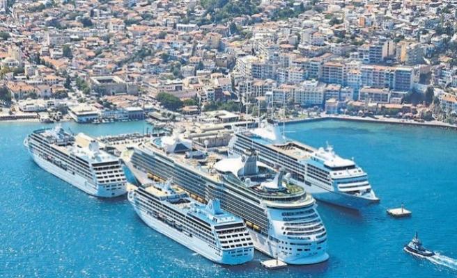 Cruise turizmi rotasını Türkiye'ye çevirdi!