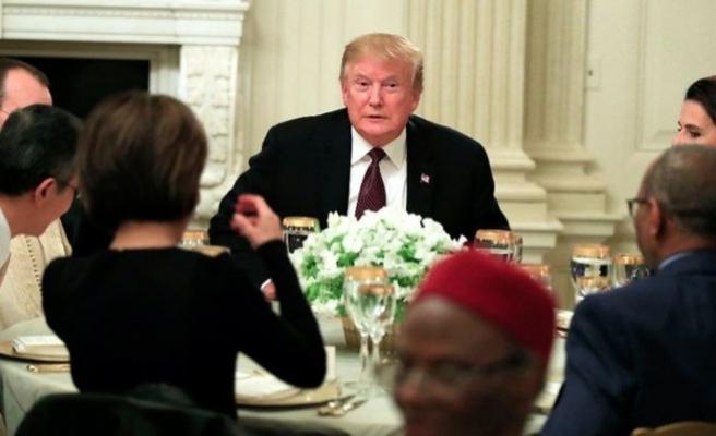 Donald Trump Beyaz Saray'da iftar verdi