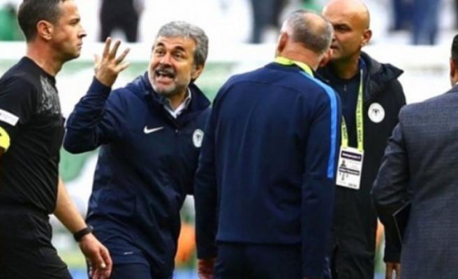 """Özkahya'nın """"senin ağzını burnunu kırarım"""" sözlerine Konyaspor cephesinden sert tepki"""