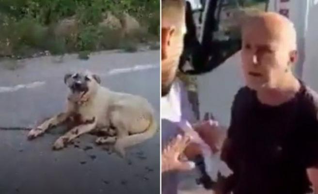 Vicdansız! Komşuların tavuklarına saldırdı diye köpeğine işkence etti