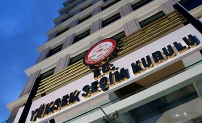 YSK İstanbul seçimi için esasları belirledi