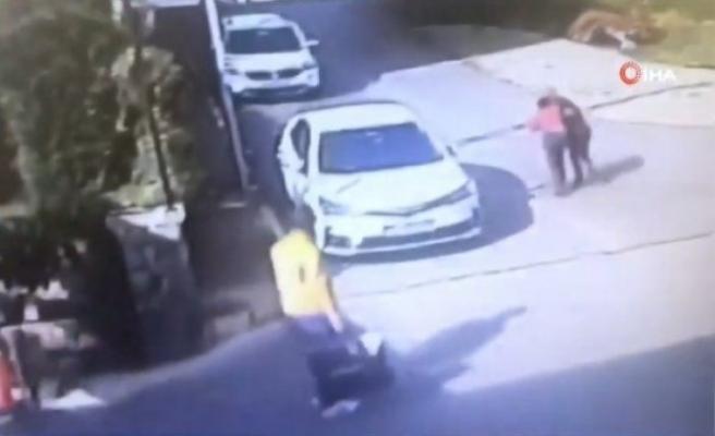 Aracına erik atan çocuğu döven kişiye tahliye