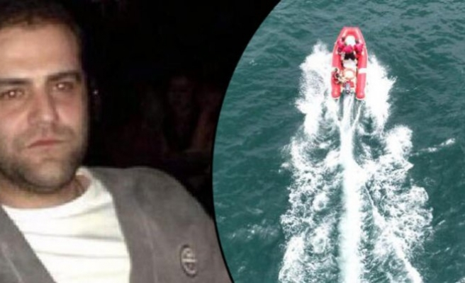 Denizde kaybolan Serdar Sincan'ı arama çalışması sürüyor