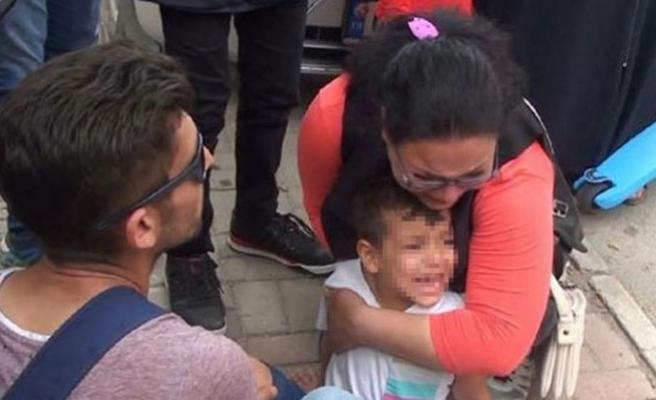 Oğlunu öyle görünce gözyaşlarına boğuldu