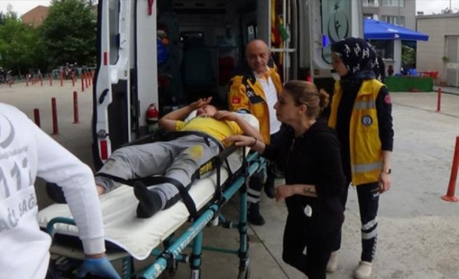 Bursa'da çocuğuna otomobil çarpan anne gözyaşlarına boğuldu!