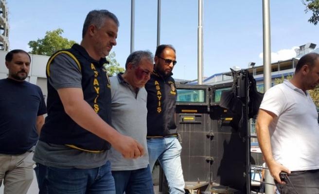 Bursa'da gelin arabası  ve kalaşnikofla dehşet saçtı