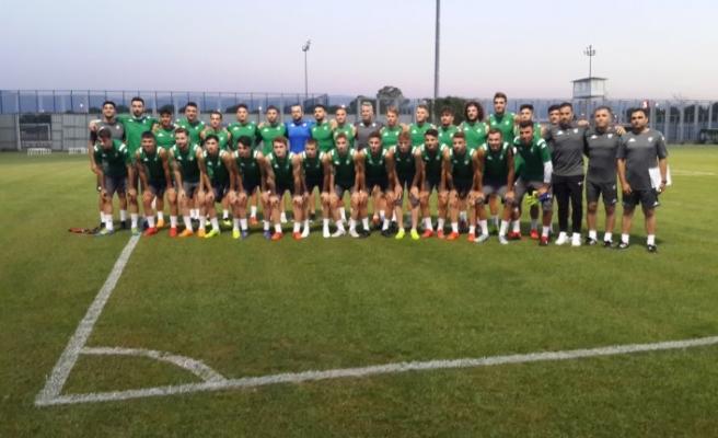 Bursaspor'da hedef transfer tahtasını açmak