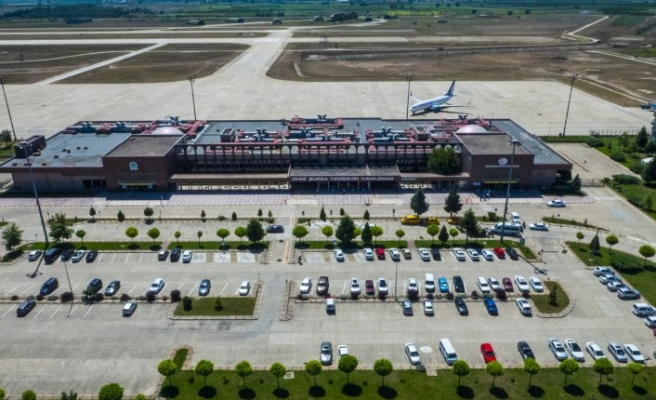 Yenişehir havalimanı rekor kırdı