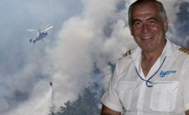 İzmir yangınında görev yapan kahraman pilotun ölü bulunmasıyla ilgili Bakan'dan açıklama