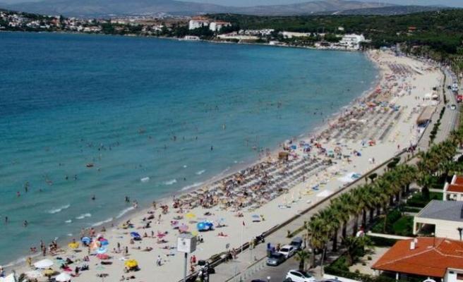 Turizm cennetinde oteller yüzde yüz doldu