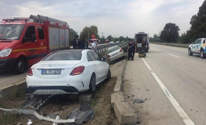 Bursa'da feci son! Su kanalına uçan araçta hayatını kaybetti