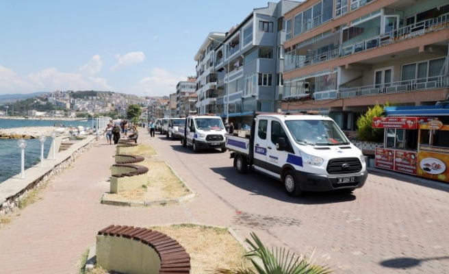 Bursa'da kıyı işgaline müdahale