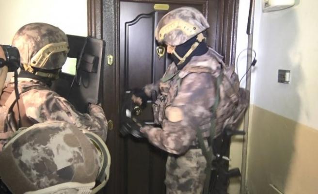 Bursa'da 500 polisle şafak vakti dev uyuşturucu operasyonu...