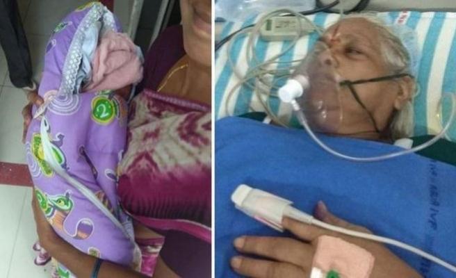 Dünyanın en yaşlı annesi yoğun bakıma kaldırıldı