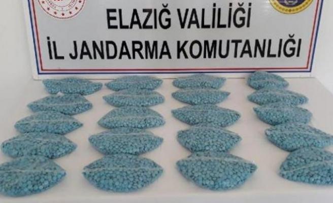 Tam 20 bin uyuşturucu hap!