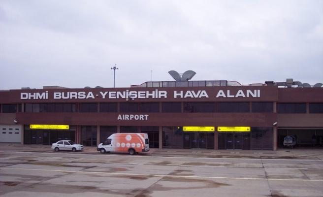 Yenişehir Havalimanı hareketlendi