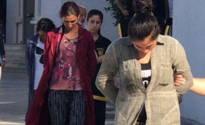 1'i hamile 3 kadın suçüstü yakalandı!