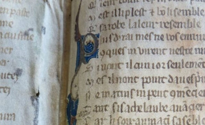 1200'lerde yazılmış erotik kitabın sayfalarını buldular!