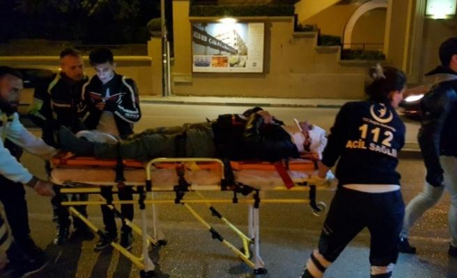 Bursa'da kaza! Direksiyon hakimiyetini kaybedince...