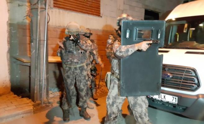 Bursa'da terör propagandası yapanlara operasyon