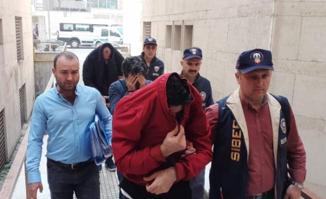 Bursa'da'Man in the middle attack' operasyonu