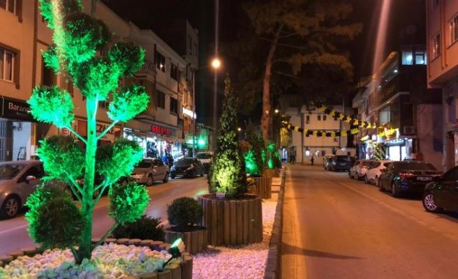 Gürsu'nun caddeleri ışıldıyor