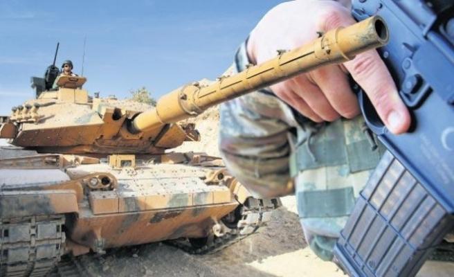 Harekata yerli silah damgası