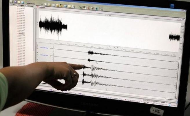 Marmara'da 3.1 büyüklüğünde deprem!